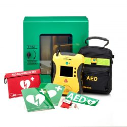 Defibtech Lifeline VIEW AED + buitenkast
