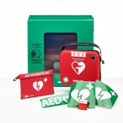Philips HS-1 AED + buitenkast