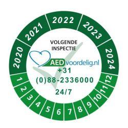 Eenmalige servicebeurt AED