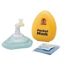 Laerdal beademingsmasker in gele plastic verpakking 5 stuks
