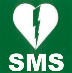 sms aed alarm