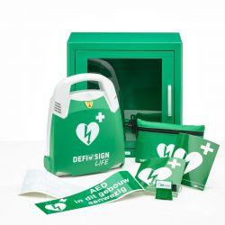 DefiSign LIFE AED + binnenkast