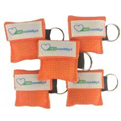 Kiss of life key oranje 5 stuks