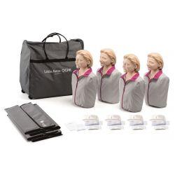 Laerdal Little Anne QCPR 4-pack, lichte huid