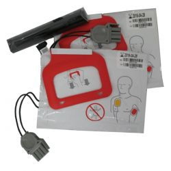Physio-Control Lifepak CRPlus/Express Accu + 2x Elektrode