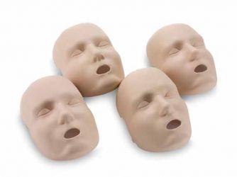 Prestan 4 pack vervangende huid volwassen gezicht