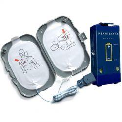 Philips HeartStart FRx AED elektroden + accu