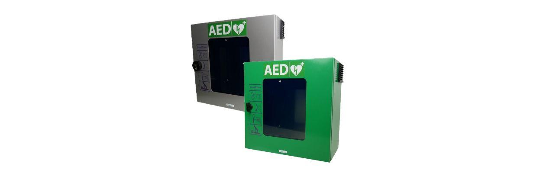 Nieuwe Sixcase AED buitenkast