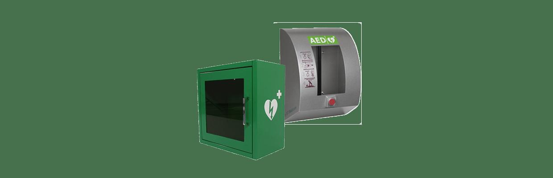 Waar een AED het best te bewaren?
