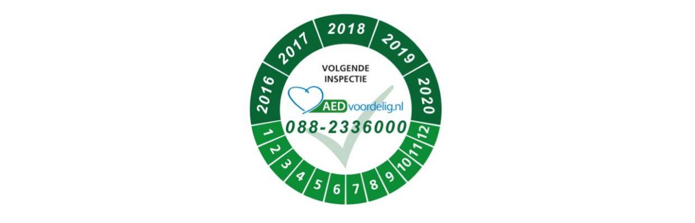 Keurmerk voor AED onderhoud