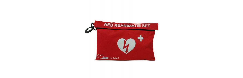 AED kopen? Een AED Reanimatieset hoort erbij!