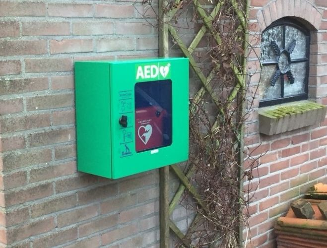 AED netwerk is uitgebreid maar nog niet dekkend