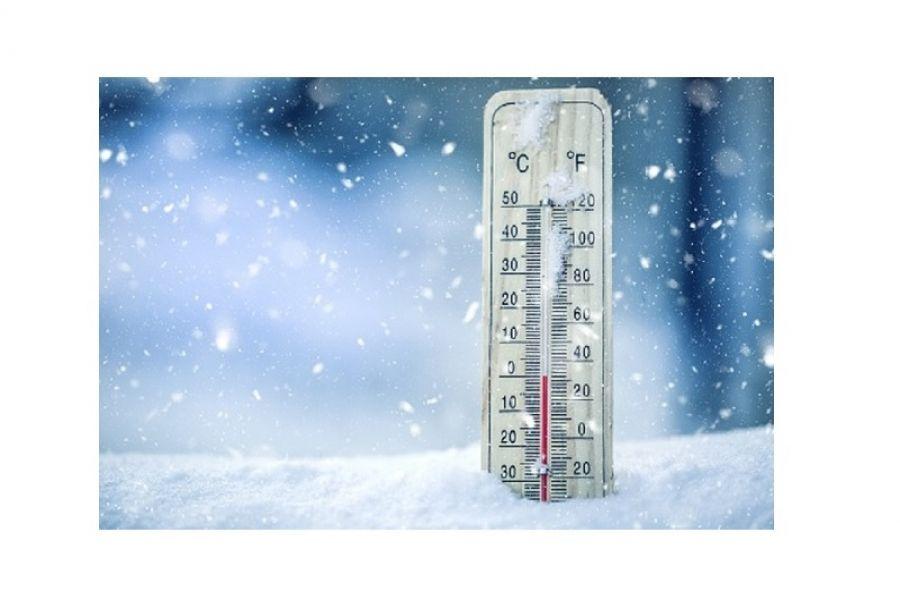 AED kast wintertest
