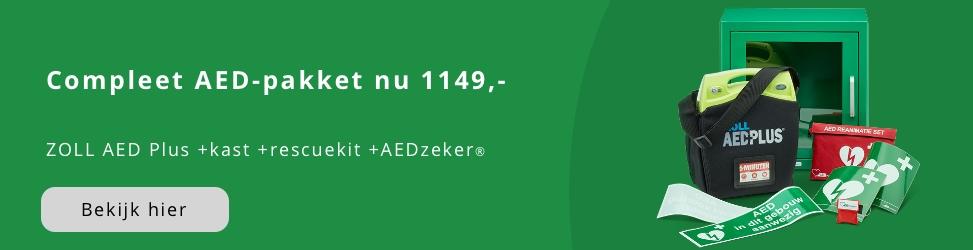 Compleet Zoll AED pakket nu voor 1149