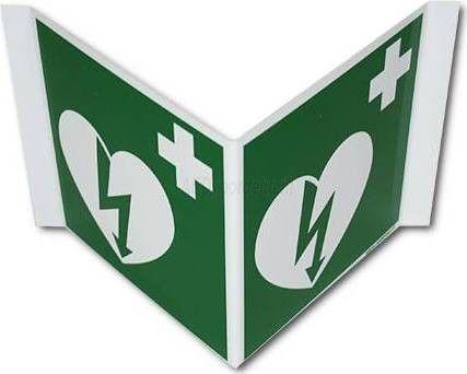 AED bordje