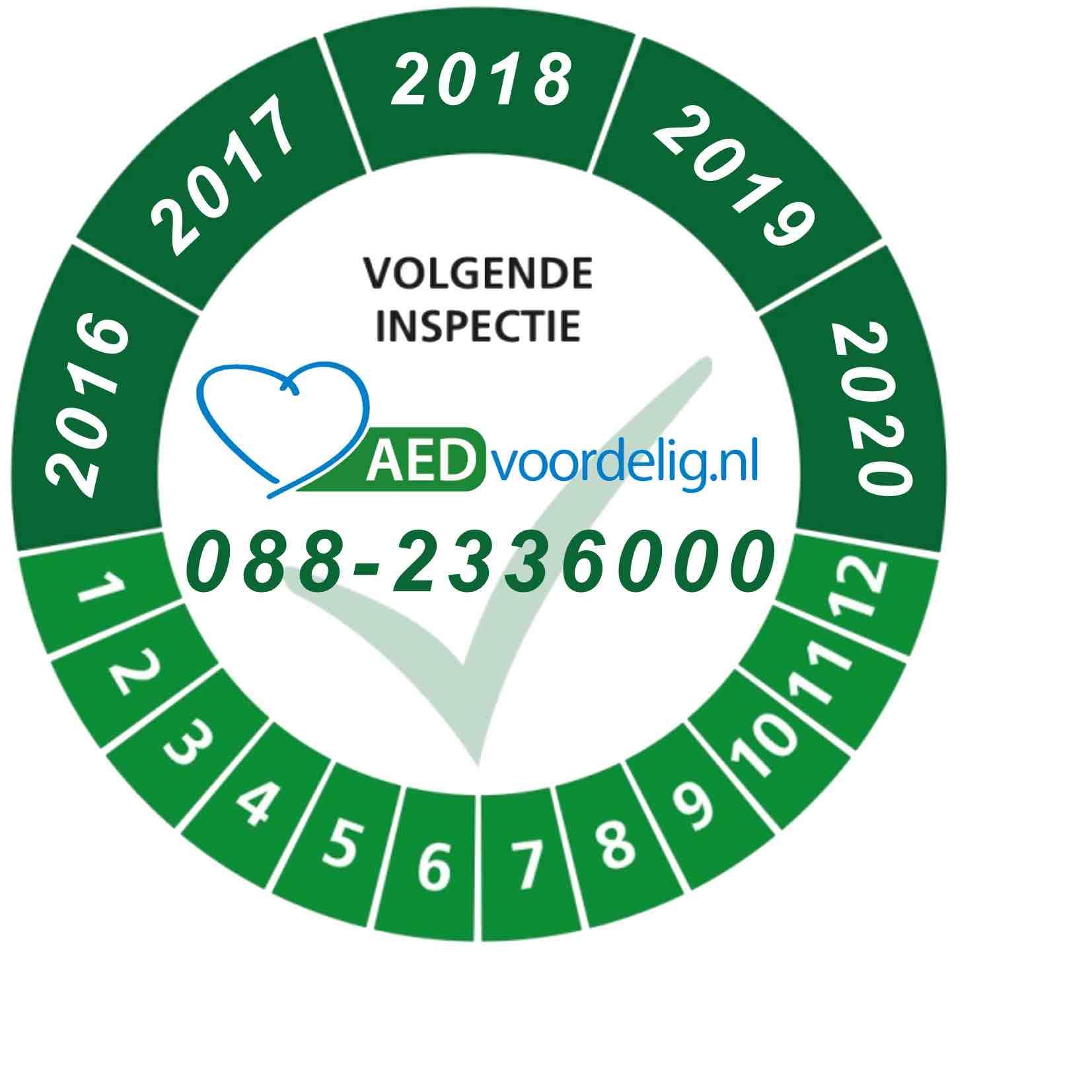 AED jaarlijkse controle