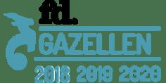 FD Gazellen winnaar 2018, 2019 en 2020